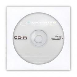 CD-R Esperanza 56x 700MB (Koperta 1) Silver