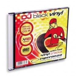 CD-R Esperanza 700MB 48x (Slim 1) Vinyl