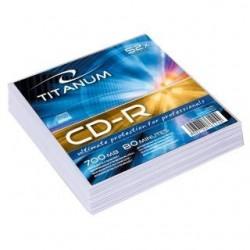 CD-R Titanum 56x 700MB (Koperta 20) Silver