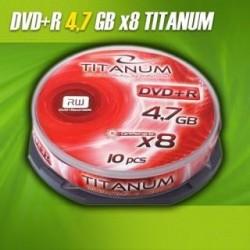 DVD+R Titanum 8x 4,7GB (Cake 10)