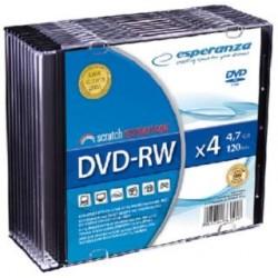 DVD-RW Esperanza 4x 4,7GB (Slim 10)