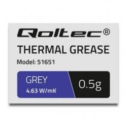 Pasta termoprzewodząca Qoltec 4.63W/m-K | 0.5g | szara