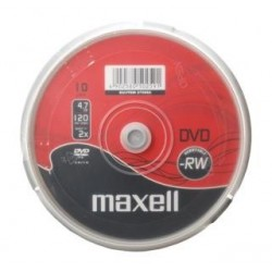 DVD-RW Maxell 4,7 GB 2X CAKE 10