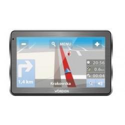 "Nawigacja GPS Vordon 7"" - Aluminiowa"