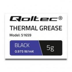 Klej termoprzewodzący Qoltec 0.975 W/m-K | 5g | Biały
