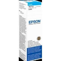 Atrament cyan w butelce 70 ml (T6732) do Epson L800/L850