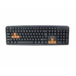 Klawiatura przewodowa Media-Tech MT1250-US KEYBOARD 4 ALL Gaming czarna