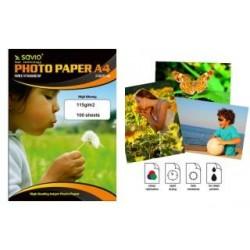 Papier fotograficzny Savio PA-13 A4 115g/m2 100 szt. błysk