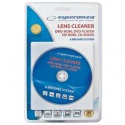 Płyta do czyszczenia napędów Esperanza DVD-ROM/CD-ROM