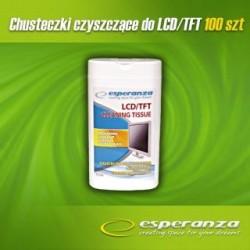 Chusteczki czyszczące Esperanza ES106 do monitorów i ekranów LCD/TFT