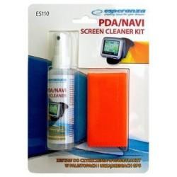 Zestaw do czyszczenia ekranów Esperanza ES110 PDA/NAVI