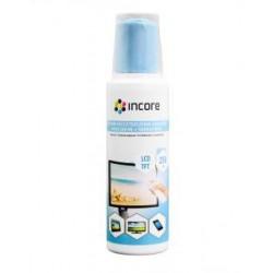 Zestaw do czyszczenia ekranów INCORE płyn 250 ml + mikrofibra