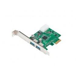 Kontroler USB 3.0 Gembird PCIe 2x USB 3.0