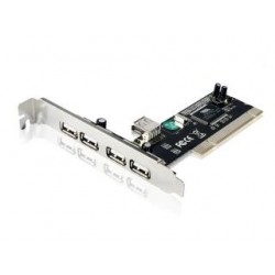 Kontroler Gembird Karta PCI USB 4-Port 2.0