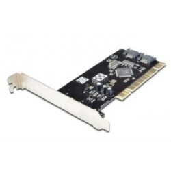 Kontroler SATA Digitus PCI, 2xSATA, Low Profile, Chipset: SIL3512