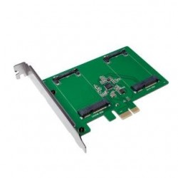 Kontroler SATA LogiLink PC0078, PCIe, 2x mSATA SSD