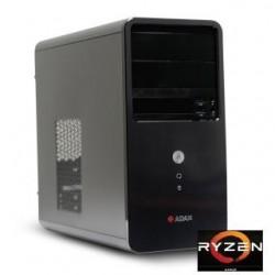 Komputer ADAX ALFA WXHX2400 R5 2400G/AA320/8G/SSD240GB/W10Hx64