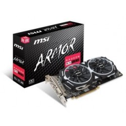 Karta VGA MSI RX 580 OC ARMOR 8GB GDDR5 256bit DVI+2xHDMI+2xDP PCIe3.0