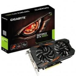 Karta VGA Gigabyte GTX1050 Ti OC 4GB GDDR5 128bit DVI+3xHDMI+DP PCIe3.0
