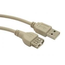 Przedłużacz Gembird USB AM-AF 2.0 0,75m
