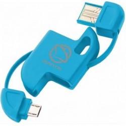 Kabel USB Manta Zig-Zag Brelok USB 0,2m