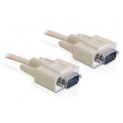 Kabel Delock transmisyjny szeregowy 9M/9M RS-232 3m