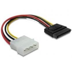 Kabel Delock SATA zasilający (M) - Molex (M) 0,06m