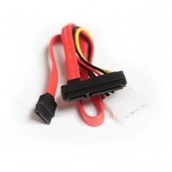 Kabel SATA DATA Gembird 0,35m+ Zasilający- wtyk combo