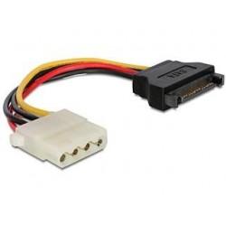 Kabel Gembird SATA zasilający(M)- Molex(F) 0,15m