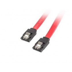 Kabel SATA Lanberg SATA-III DATA 0,5m metalowe zatrzaski