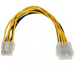 Przedłużacz kabla zasilającego Akyga AK-CA-08 EPS 8pin 0,2m