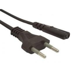 Kabel zasilający radiowy 1,8m PC-184/2 Gembird CEE 7/16 C7
