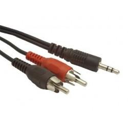 Kabel Gembird Minijack-2XRCA (CINCH) M/M 1,5m