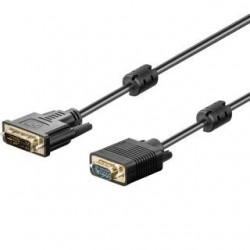 Kabel DVI - VGA Akyga AK-AV-03 DVI-I M (24+5) - VGA (M) 1,8m czarny