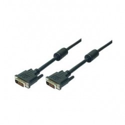 Kabel DVI LogiLink CD0001 2x DVI-D ferryt 2m