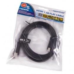 Kabel HDMI Esperanza EB198 HDMI/HDMI 1,5m płaski czarny