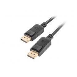 Kabel DisplayPort Lanberg M/M 1m 4K czarny