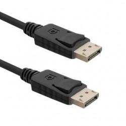 Kabel DisplayPort v1.2 Qoltec męski / DisplayPort v1.2 męski | 4Kx2K | 1,5m
