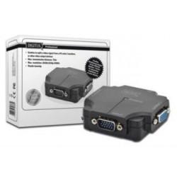 Mini Splitter VGA Digitus DS-41120-1 2-portowy, 350MHz 1920x1080p FHD