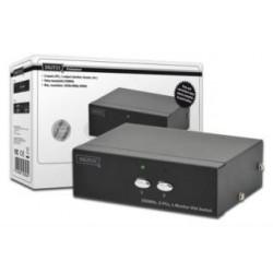 Switch VGA Digitus DS-44100-1 2-portowy, 250MHz 1920x1080p FHD