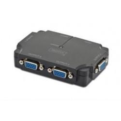 Mini Splitter VGA Digitus 4-portowy, 350MHz 1920x1080p FHD