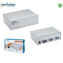 Rozdzielacz / Splitter Manhattan MSV-102-01 VGA 2/1 150MHz IDATA