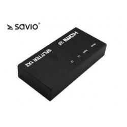 Splitter HDMI Savio CL-42 (1x IN - 2x OUT)