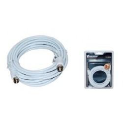 Kabel koncentryczny TV (antenowy) VAKOSS M/M 5m TC-A565W biały