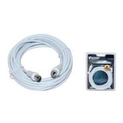 Kabel koncentryczny TV (antenowy) VAKOSS M/F 5m TC-A727W biały