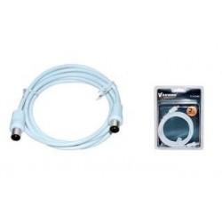 Kabel koncentryczny TV (antenowy) VAKOSS M/M 2m TC-A754W biały