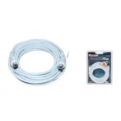 Kabel koncentryczny TV (antenowy) VAKOSS M/M 5m TC-A755W biały