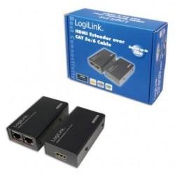 Extender HDMI LogiLink HD0102 do 30m przez RJ45