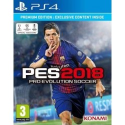 Pro Evolution Soccer 2018 Premium (PS4)