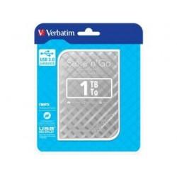 "Dysk zewnętrzny Verbatim 1TB Store 'n' Go 2.5"" srebrny USB"